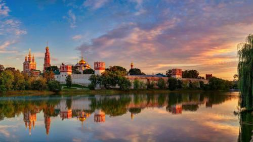 moscow novodevichy convent mother of god of smolensk summer 95599 1920x1080